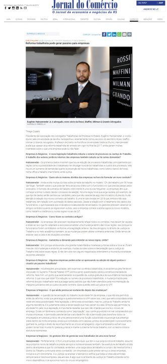 17.06.2019 - Jornal-do-Comércio-Online-Empresas-e-Negócios-Entrevista-Eugênio-RMMG